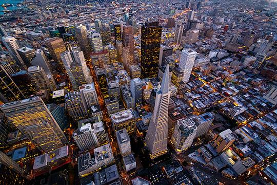 San Francisco Skyline 540 pixel
