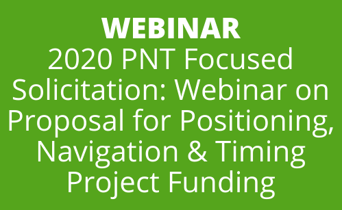 PNT 2020 RFP Webinar