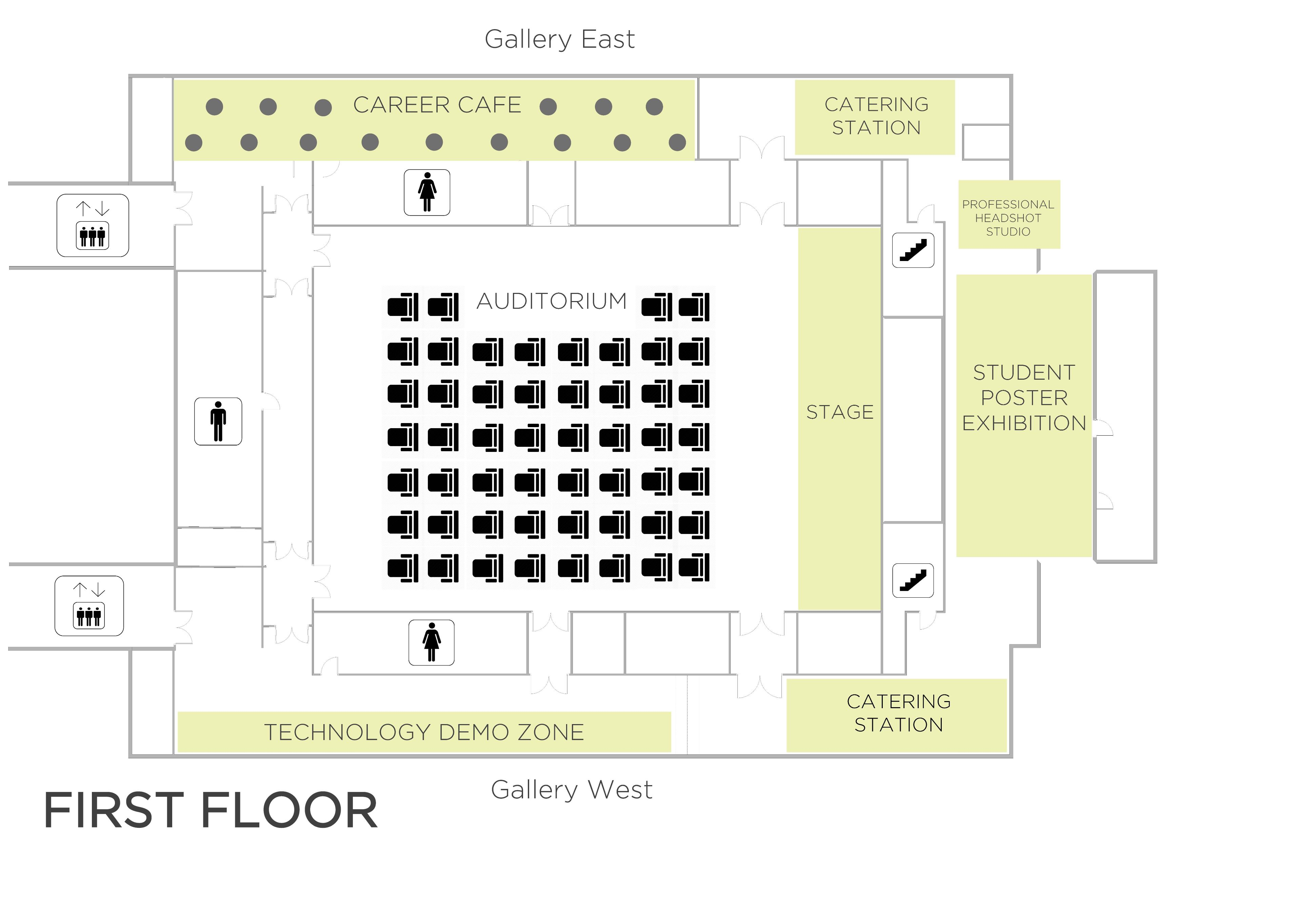 Talent Forum Floormap