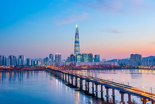 Seoul Skyline 500 pixel