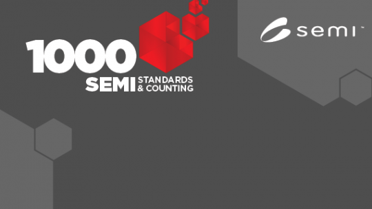 1000th SEMI Standard Published