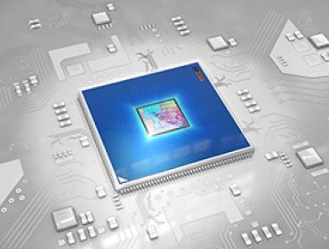 IC Chip Blue 370 pixel