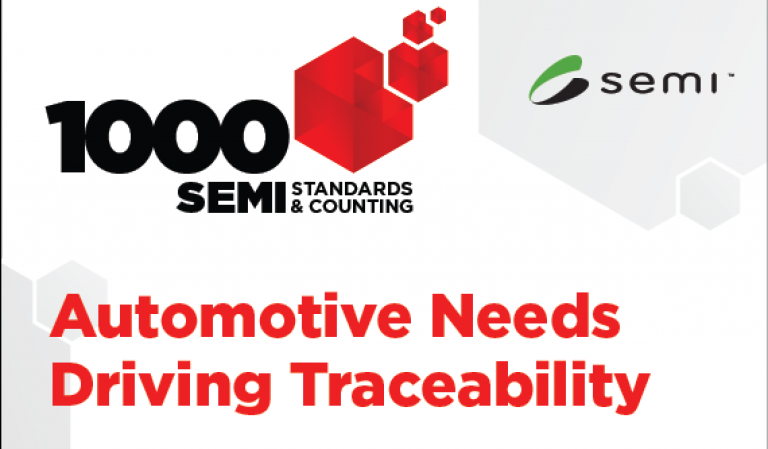 Automotive needs driving traceability