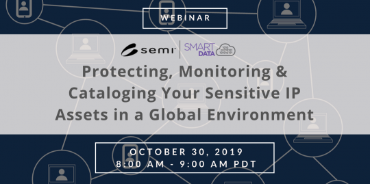 Protecting, Monitoring and Cataloging Your Sensitive IP Assets in a Global Environment Webinar October 30 2019