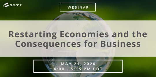 Restarting Economies and the Consequences for Business Webinar May 21