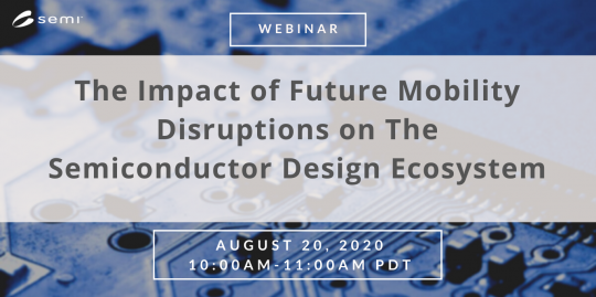 The impact of future mobility disruptions on the semiconductor design ecosystem