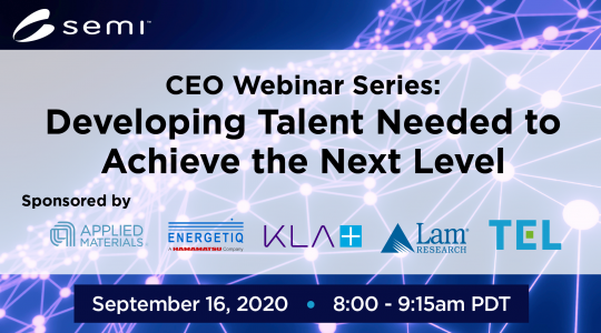 From Our CEO Webinar: Developing the Talent Needed to Achieve the Next Level