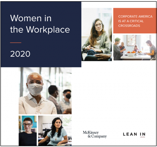 Women in Workplace Report cover